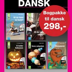 Bogpakke til dansk