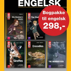 Bogpakke til engelsk