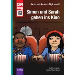 Simon und Sarah gehen ins Kino