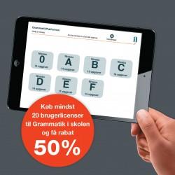 """Tablet app """"Grammatik i skolen"""" til iPad - Skoleversionen"""