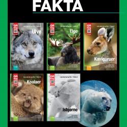 Bogpakke med fem faktabøger