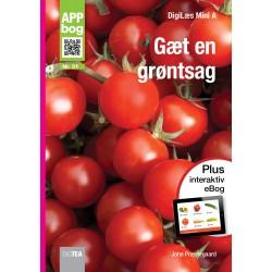 Gæt en grøntsag APP-bog