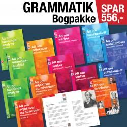 Alt om grammatik – med øvelser og facit