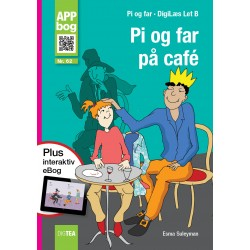Pi og far på café