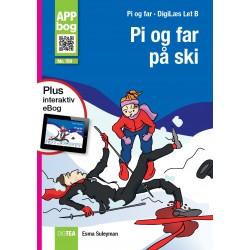 Pi og far på ski