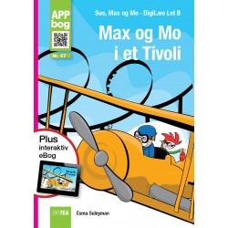 Max og Mo  i et tivoli APP-bog