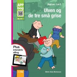 Ulven og de tre små grise, APP-bog