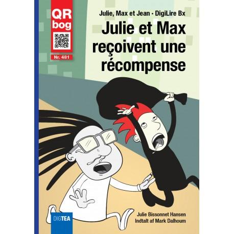 Julie et Max reçoivent une  récompense