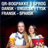 12 bogpakker a kr. 198,- (240 titler/5 sprog)