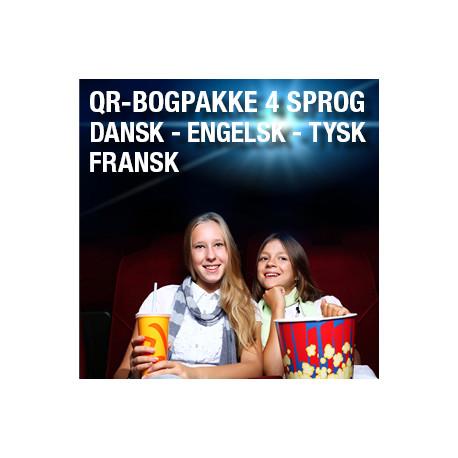 12 bogpakker a kr. 198,- (5 sprog)