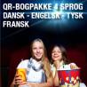 6 bogpakker a kr. 248,- (120 titler/4 sprog)