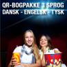 12 bogpakker a kr. 198,- (240 titler/3 sprog)