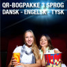 6 bogpakker a kr. 248,- (120 titler/3 sprog)