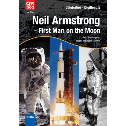 Neil Armstrong  - First Man on the Moon - Celebrities ∙ DigiRead E