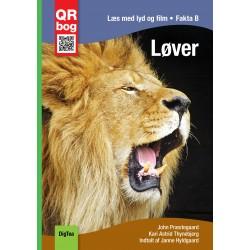 Løver - Læs med lyd og film