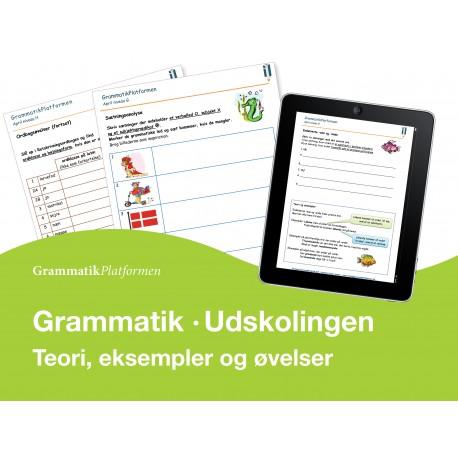 Grammatikplatformen udskoling
