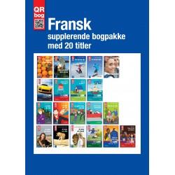 Fransk supplerende bogpakke med 20 titler