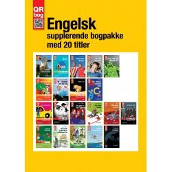 Engelsk supplerende bogpakke med 20 titler
