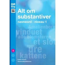Alt om substantiver · navneord · niveau 1