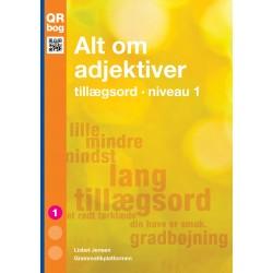 Alt om adjektiver · tillægsord · niveau 1