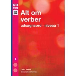 Alt om verber · udsagnsord · niveau 1
