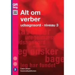 Alt om verber · udsagnsord · niveau 3