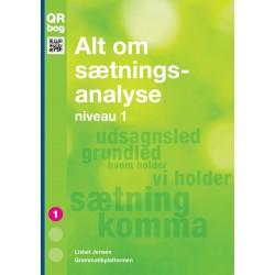Alt om sætningsanalyse · niveau 1