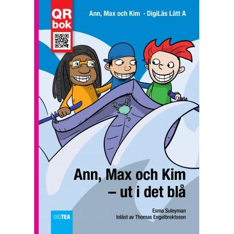 Ann, Max och Kim – ut i det blå