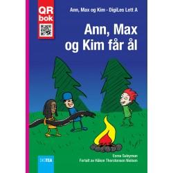 Ann, Max  og Kim får ål