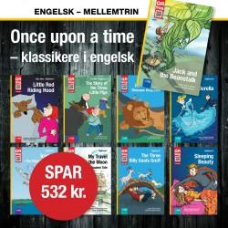 engelsk bogpakke – mellemtrin
