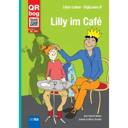 Lilly im Café