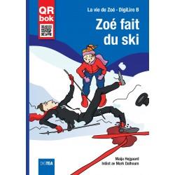 Zoé fait du ski