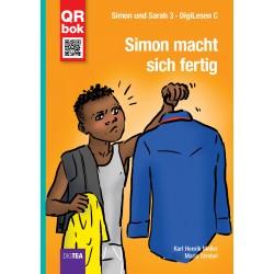 3. Simon macht sich fertig