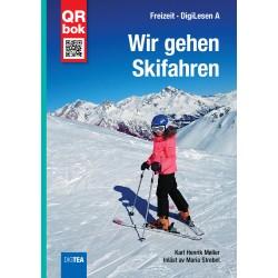 Wir gehen Skifahren